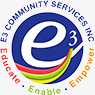 e3 community services logo